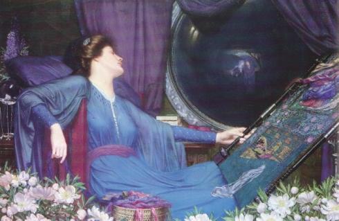 "Sidney Harold Metyard's ""The Lady of Shalott"""