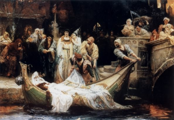 lord alfred tennyson s ldquo the lady of shalott rdquo deceptively blonde g e robertson s the lady of shalott