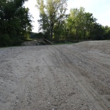 Lol, the gravel road that became a sandpit