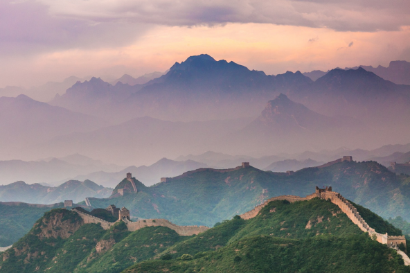 """The Great Wall of China"" by Phillip Van Nostrand"